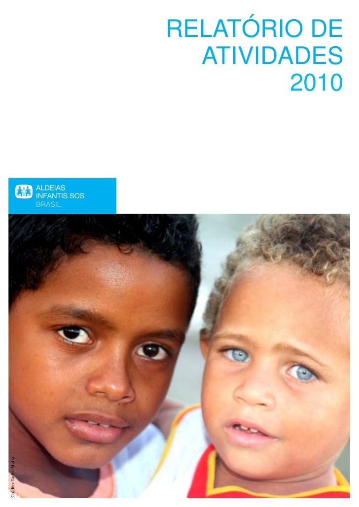 Relatório de Atividades - 2010