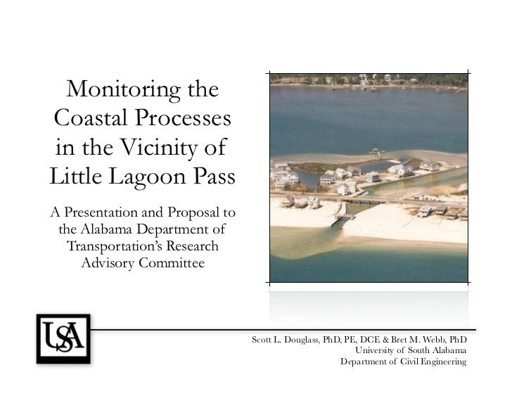Monitoring the Coastal Processes in the Vicinity of Little Lagoon Pass
