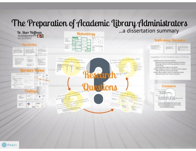 The Preparation of Academic Library Administrators (Prezi import)