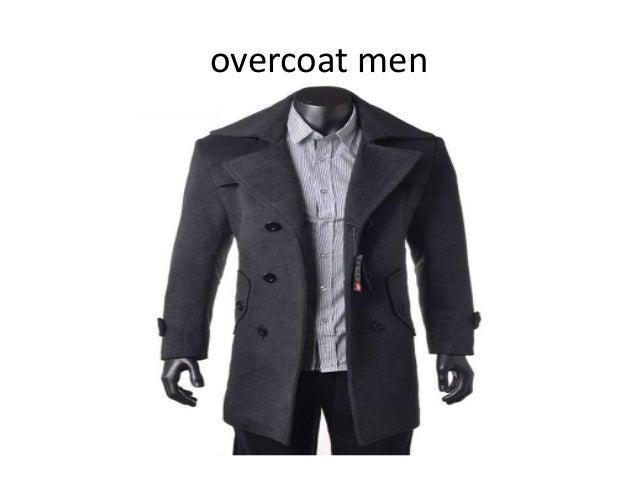 overcoat men