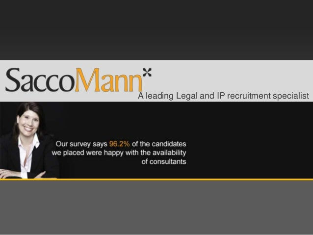 A leading Legal and IP recruitment specialist