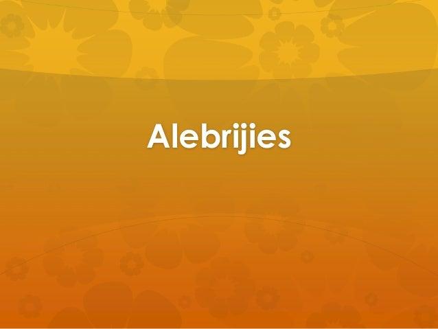 Alebrijies