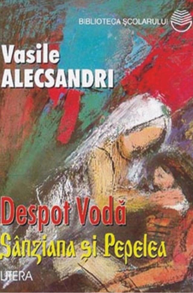 VasileALECSANDRI   DESPOT-VOD{S~NZIANA +I PEPELEA