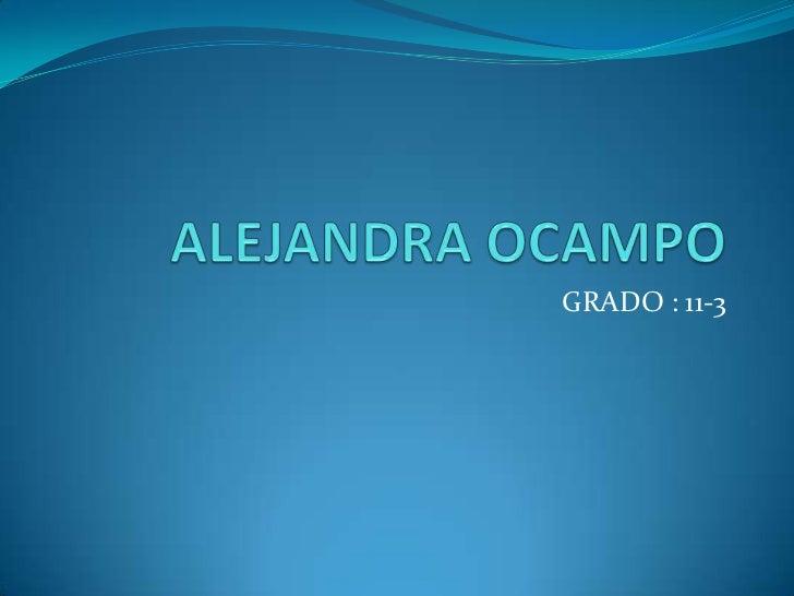 Alejandra uva