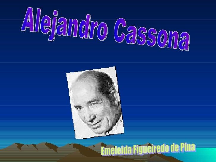 Alejandro Cassona Emeleida Figueiredo de Pina
