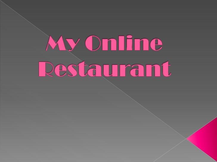 Alejo my online restaurant 1