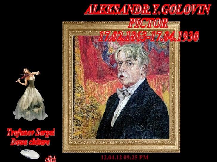Aleksandr Y-Golovin Art Works