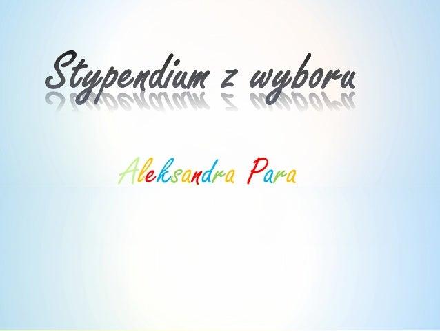 Aleksandra Para
