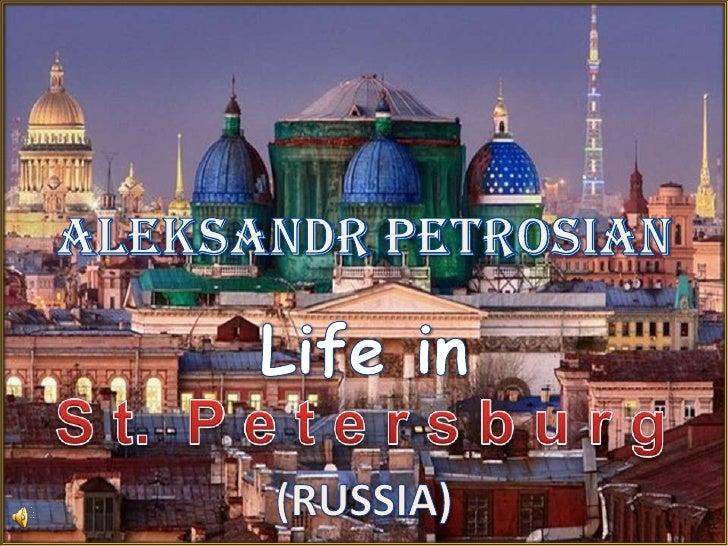 Aleksandr petrosian   st. petersburg, russia