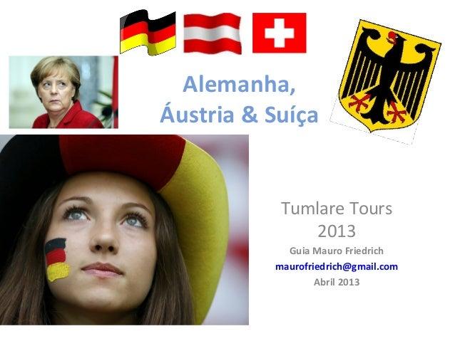 Alemanha, áustria & suiça 2013