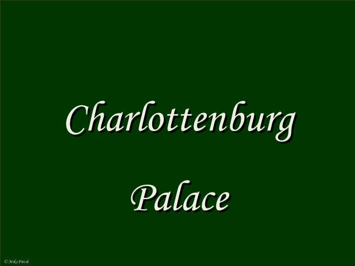 Alemania berlin-palacio charlottenburg