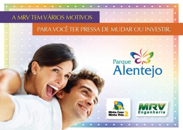 MRV Folder Alentejo   Araraquara - SP