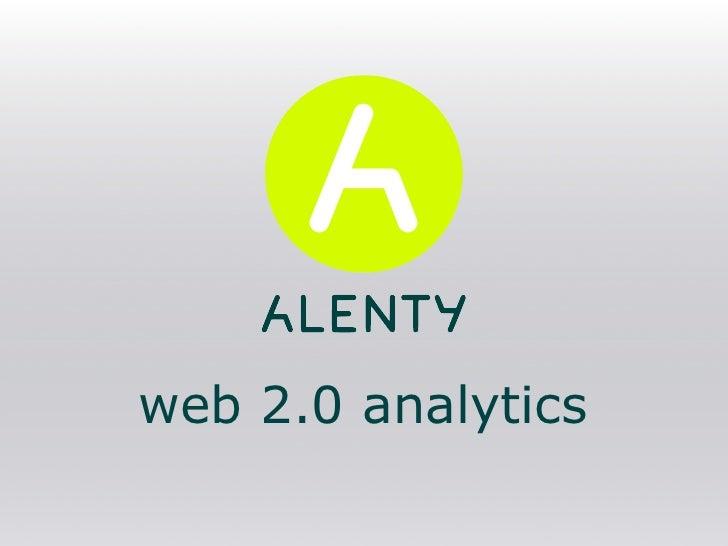 web 2.0 analytics