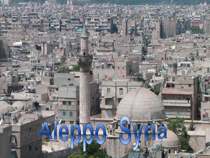 Aleppo  Syria <br />