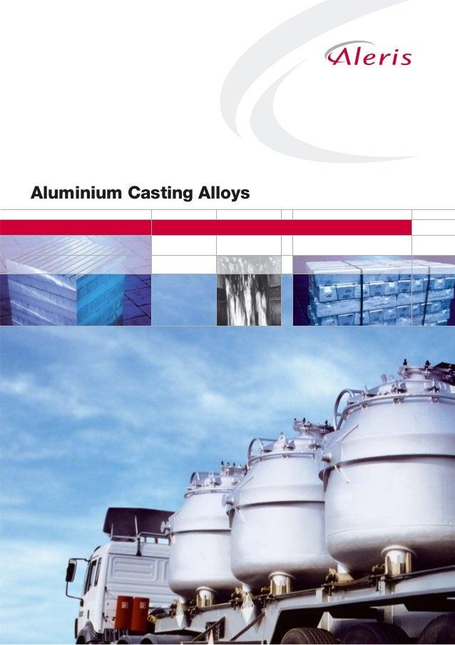 Guide to Aluminium Casting Alloys by Aleris