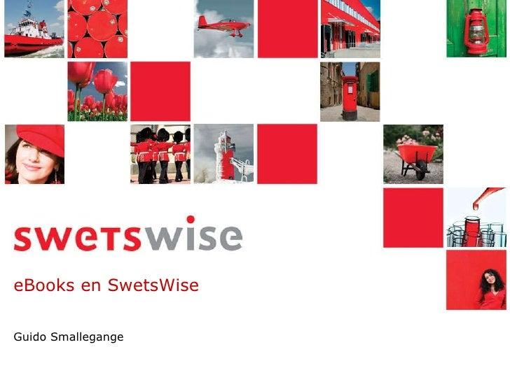 eBooks en SwetsWise Guido Smallegange