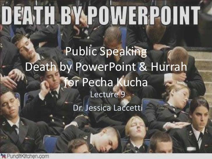 Ales204 Lecture 9 ::  Public Speaking & Pecha Kucha