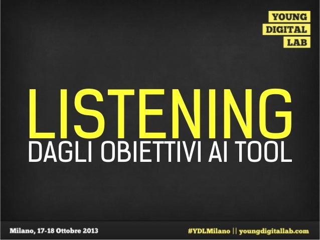 Alessandro Rigato – Listening