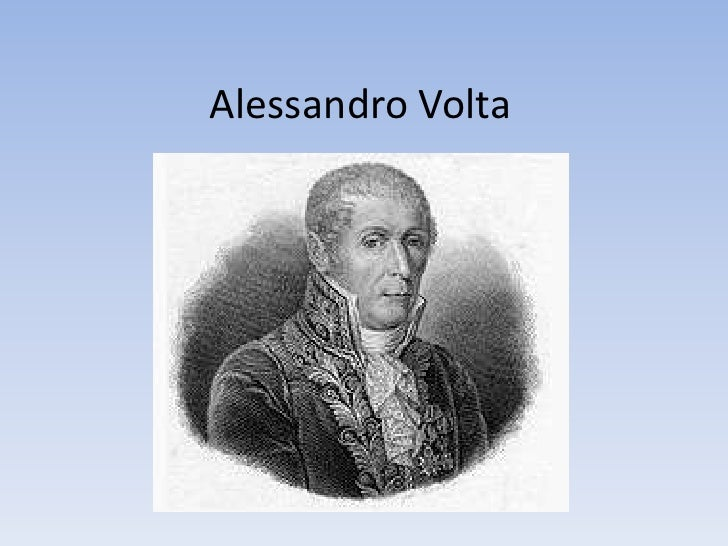 Alessandro Volta<br />