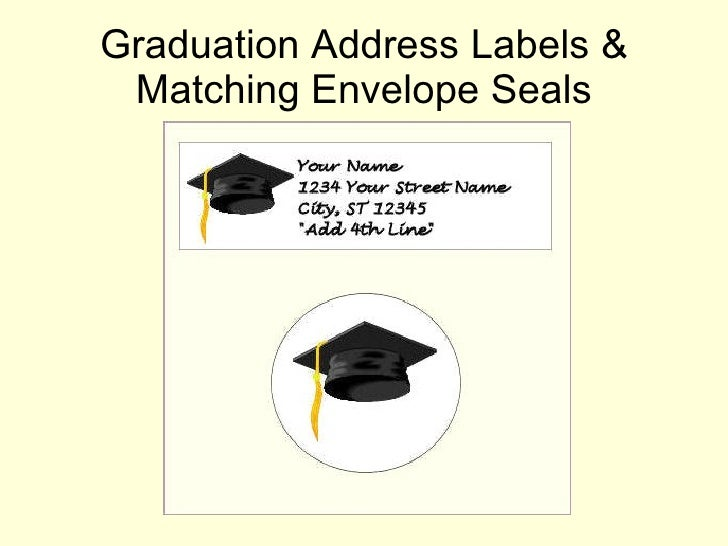 Graduation Envelopes Seals Envelope Seals 10