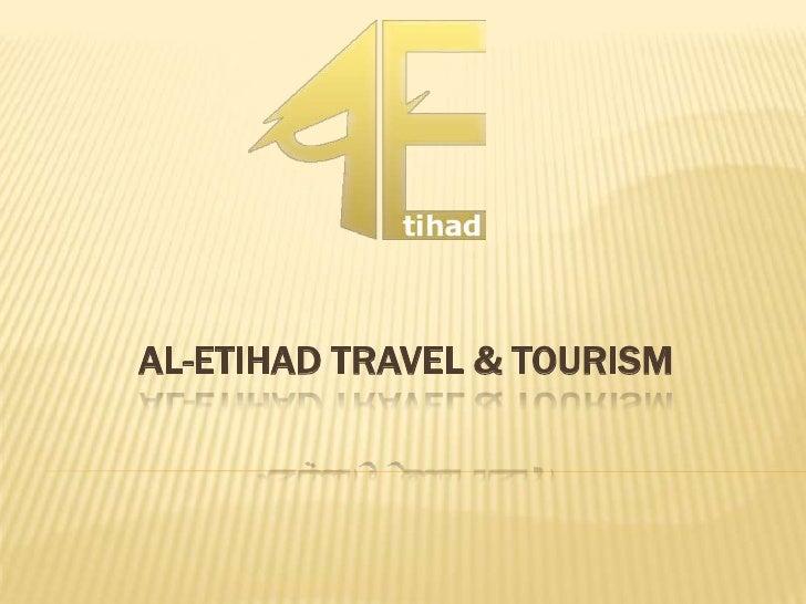 AL-ETIHAD TRAVEL & TOURISM