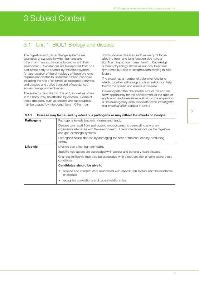 Aqa biology unit 5 synoptic essay help
