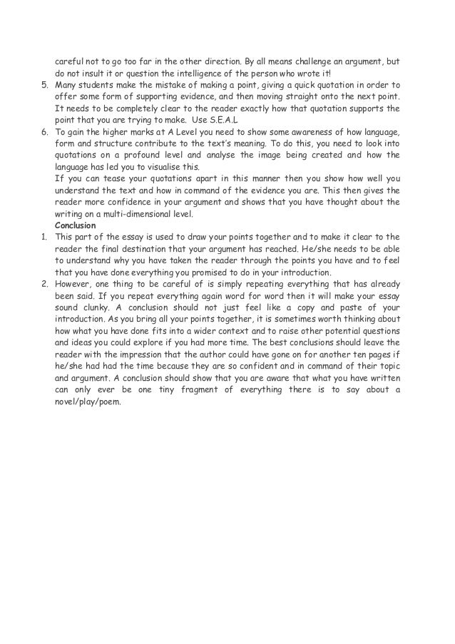 a2 english literature essay introduction Here we show you how to write a first-class essay and give yourself the  been  asked to write a comparative essay, say on a couple of literary.