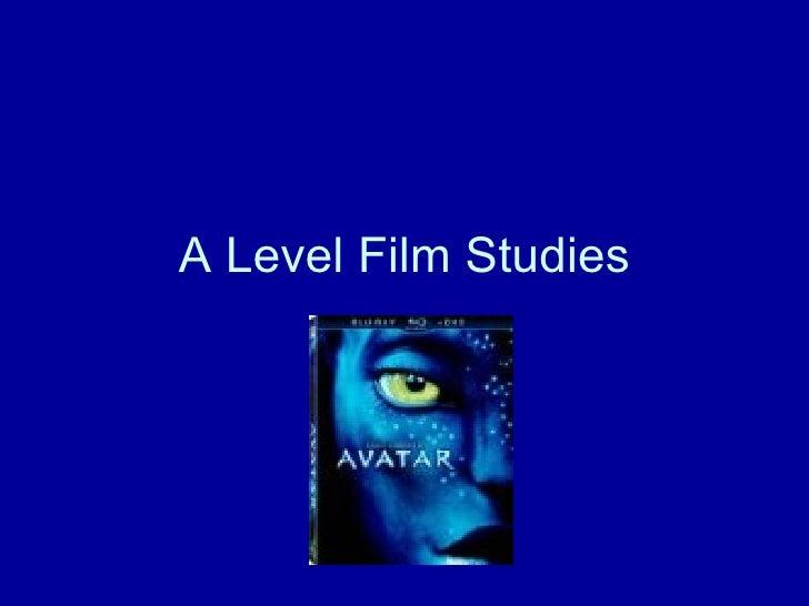 A Level Film Studies