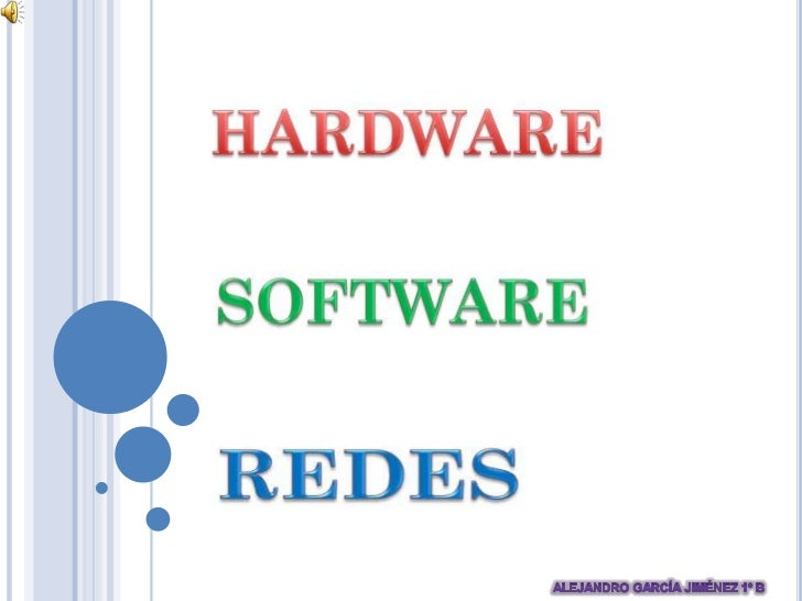 Hardware, Software & Redes