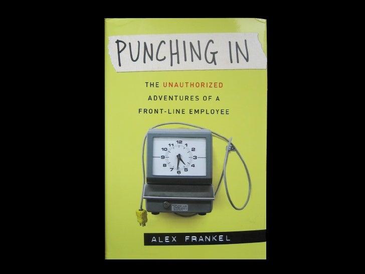 Alex Frankel: Living the Brand