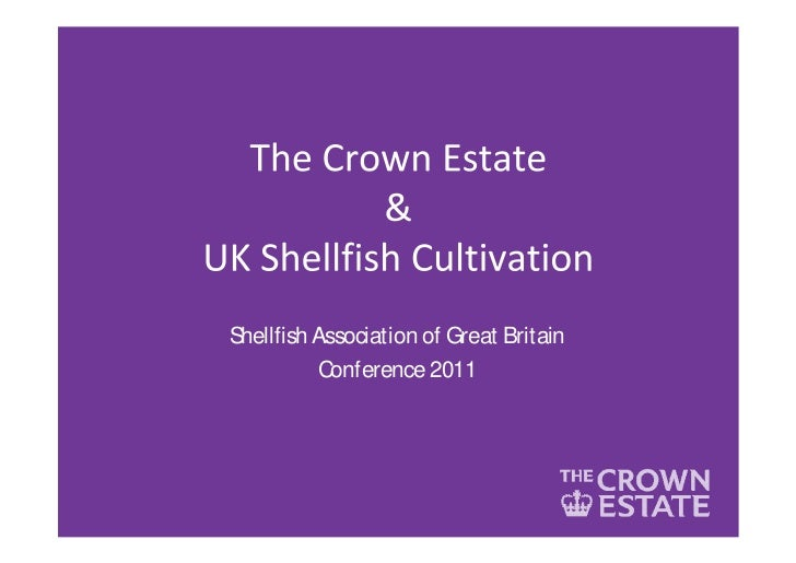 Shellfish Association of Great Britain          Conference 2011
