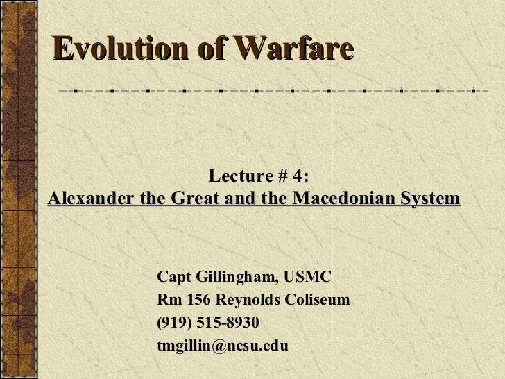 Alexander And Macendonians Slides