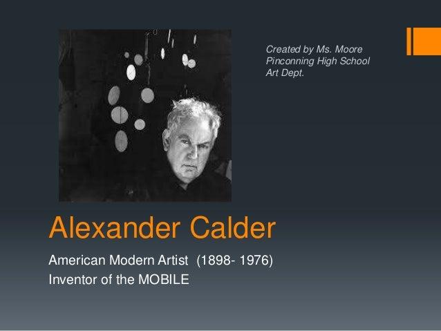 Alexander Calder Biography