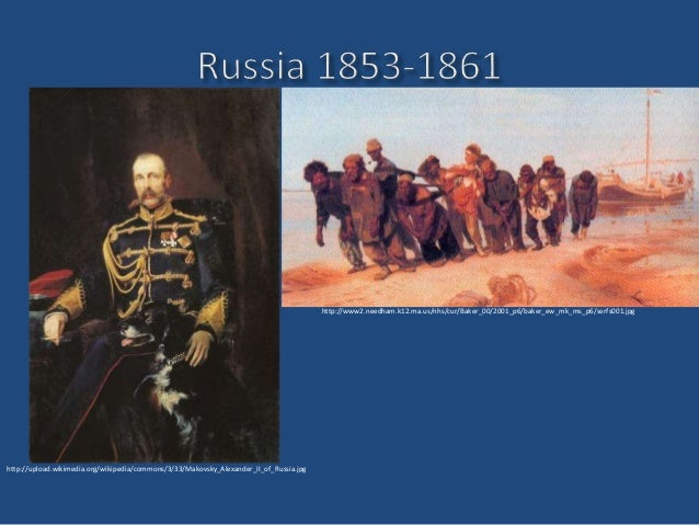 Alexander II and the Emancipation of the Serfs