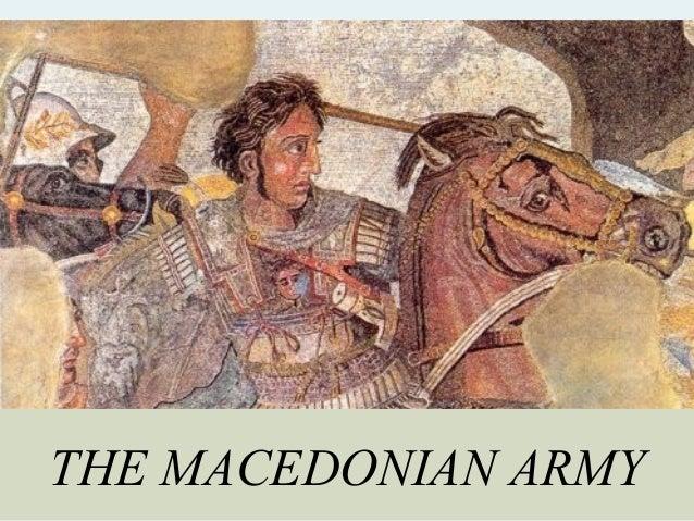 THE MACEDONIAN ARMY