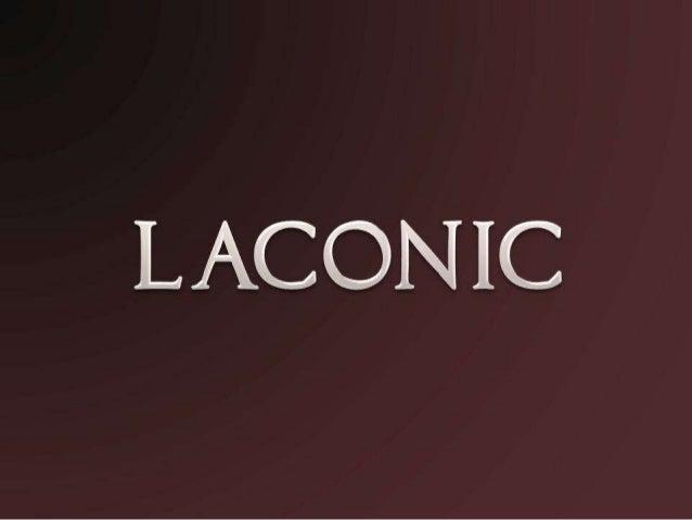 laconic - photo #9
