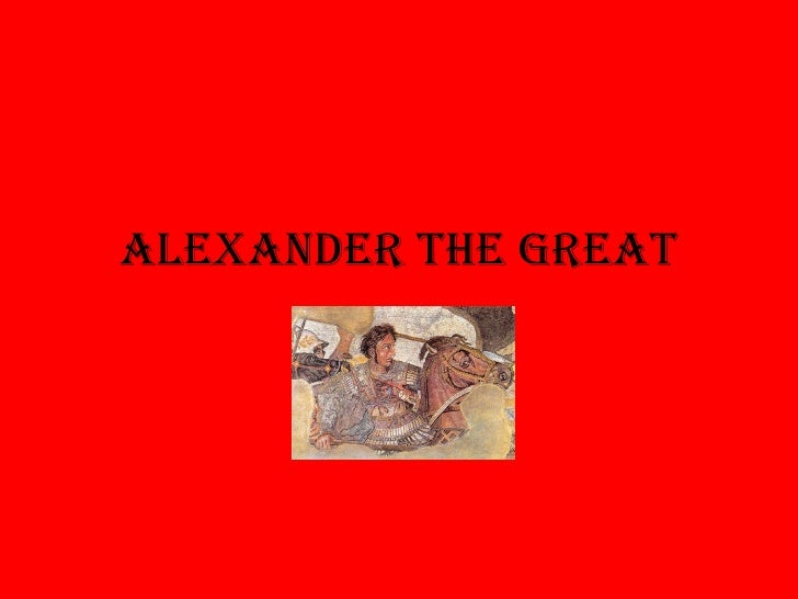 Alexander the great clicker quiz