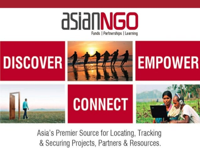 Problems Learningresources facingNGOs inAsia Finding funds Finding partners 1 2 3