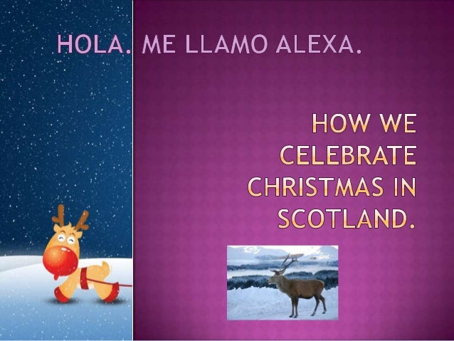 Alexa odell   how we celebrate christmas in scotland