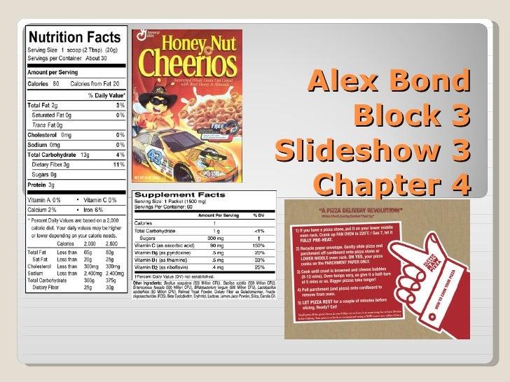 Alex Bond Block 3 Slideshow 3 Chapter 4