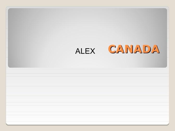 Canada by Alex