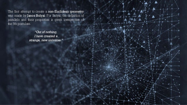 history of geometry essay Differences in geometry geometry is the branch of mathematics that deals with the properties of space geometry is classified between two separate branches, euclidean and non-euclidean geometry  essays related to geometry 1 architecture  history and the scientific revolution.