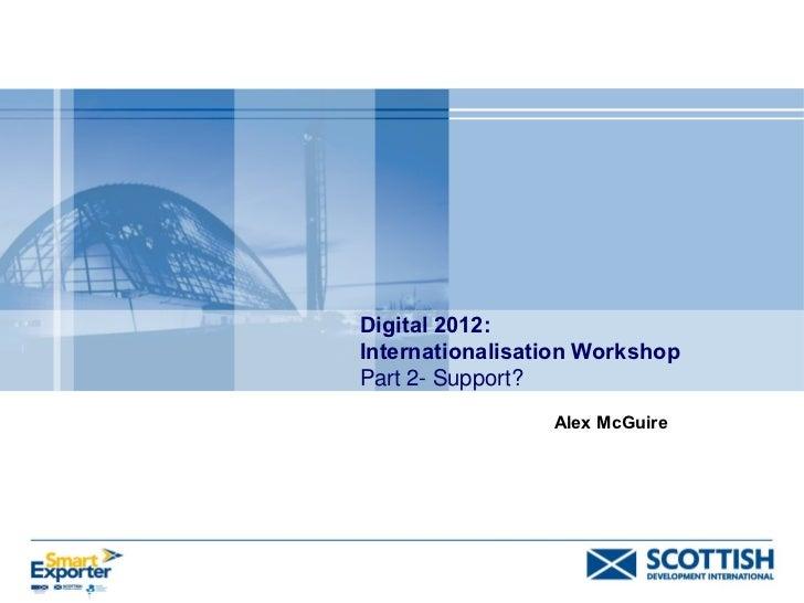 Alex mc guire sdi support 300312   workshop 6 - part 4
