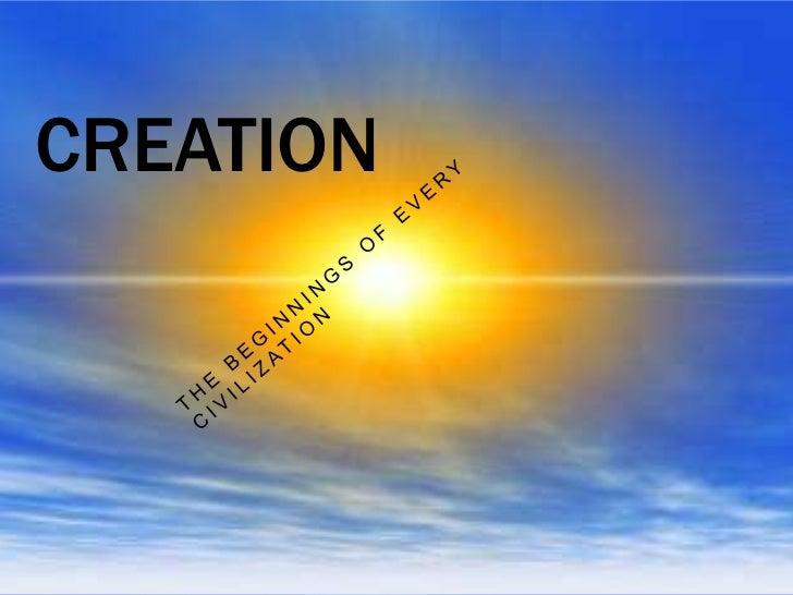 Creation- Alex Moore