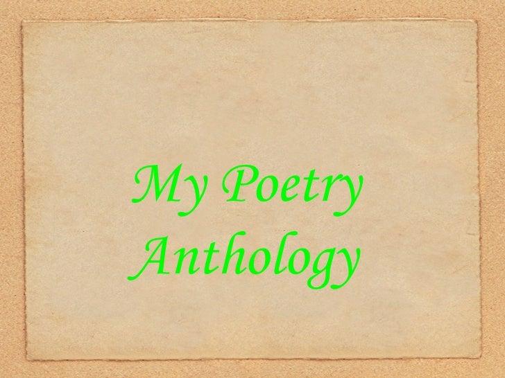 Alex\'s Poetry Anthology
