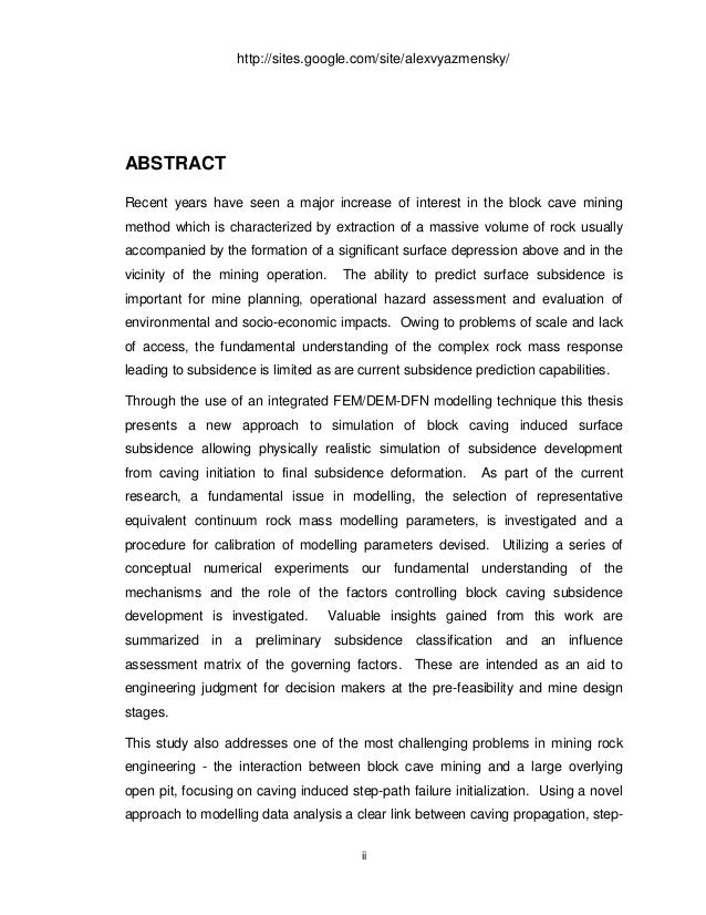 Phd thesis fracture mechanics
