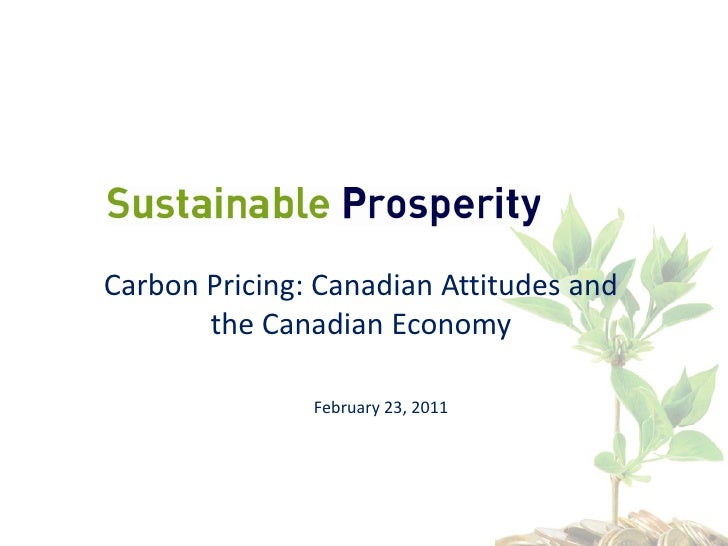 Alex wood Presentation - Continental Divide? Canadian and US Views on Energy and Climate Change  February 2011