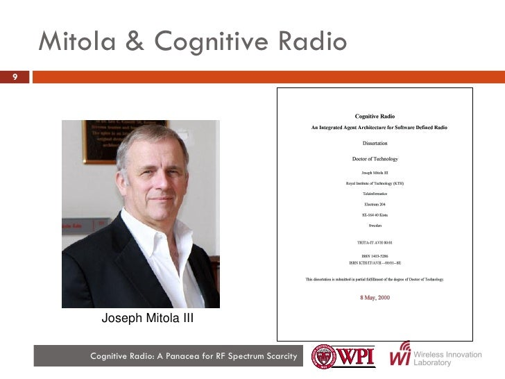 cognitive radio thesis Keywords—cognitive radio(cr),spectrum sensing, energy detection , qam , wiener khintchin theorem, orthogonal frequency division multiplexing (ofdm.