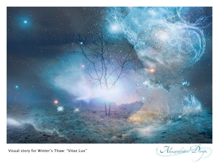 "Visual story for Winter's Thaw: ""Vitae Lux"""
