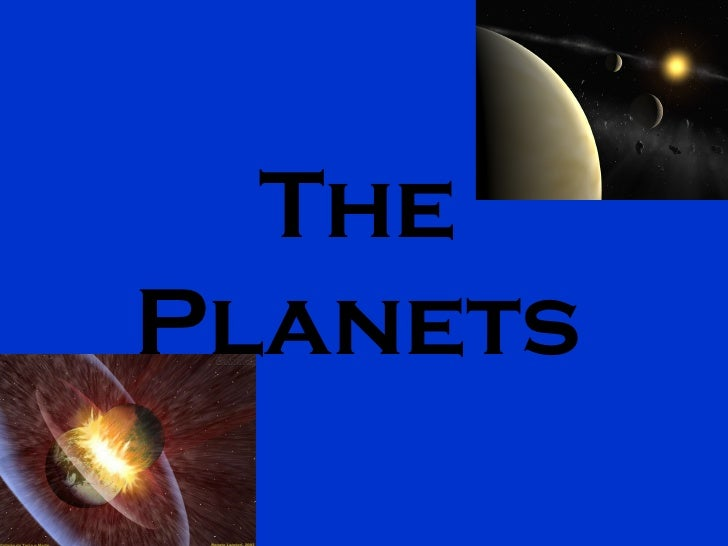 The Planets, of Alejandro A.